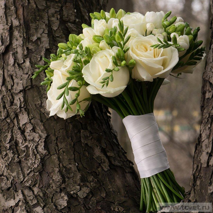 Заказ цветов, букет невесты партизанская