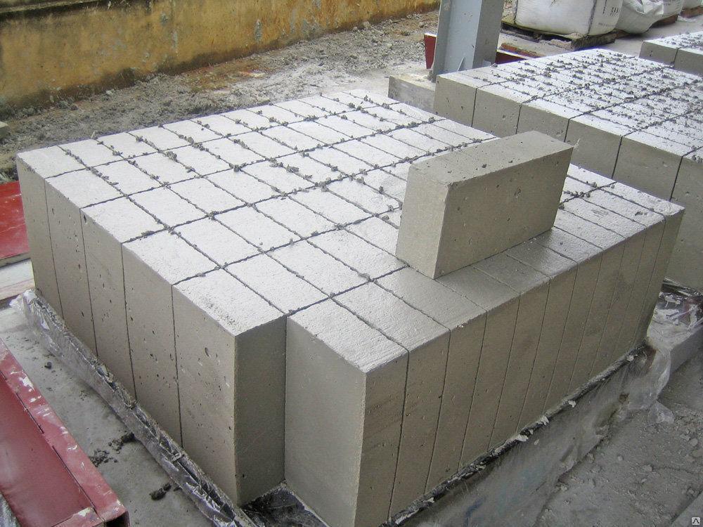 шлакоблок куб