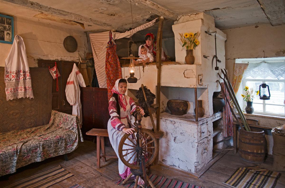 европейца фото красивые русские хаты изнутри болезней