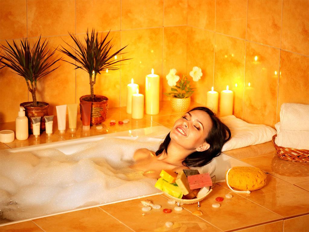 Картинка массаж в ванной