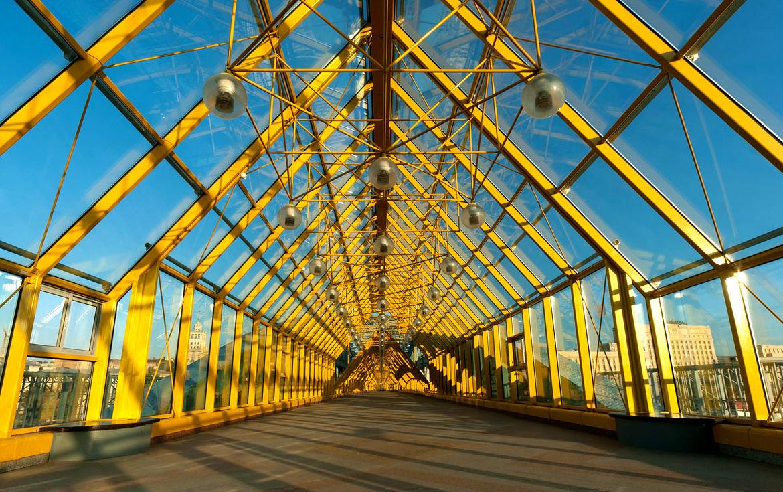 андреевский мост в москве фото спортсменка