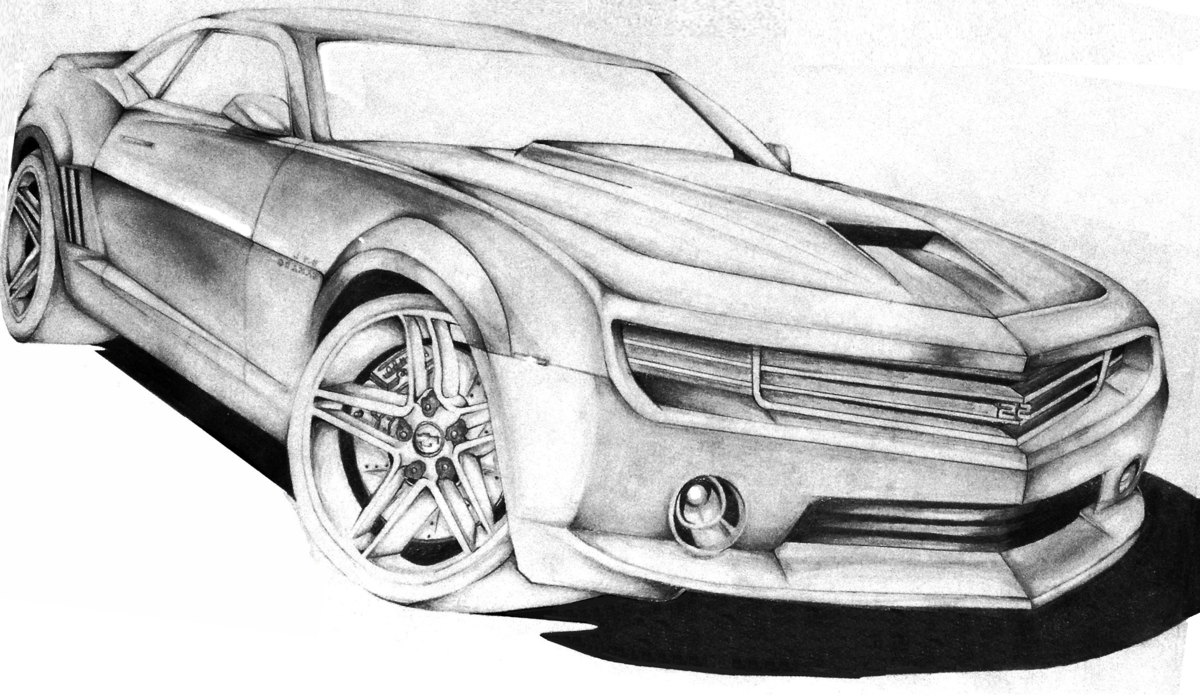 Моя любимая, крутые машины рисунок