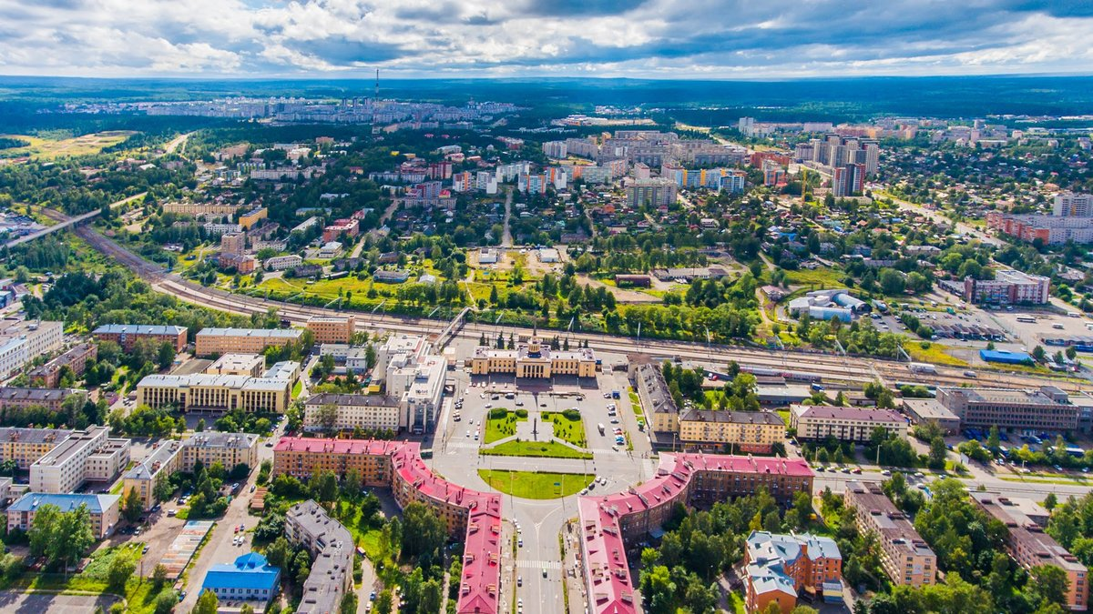 Города карелии в картинках