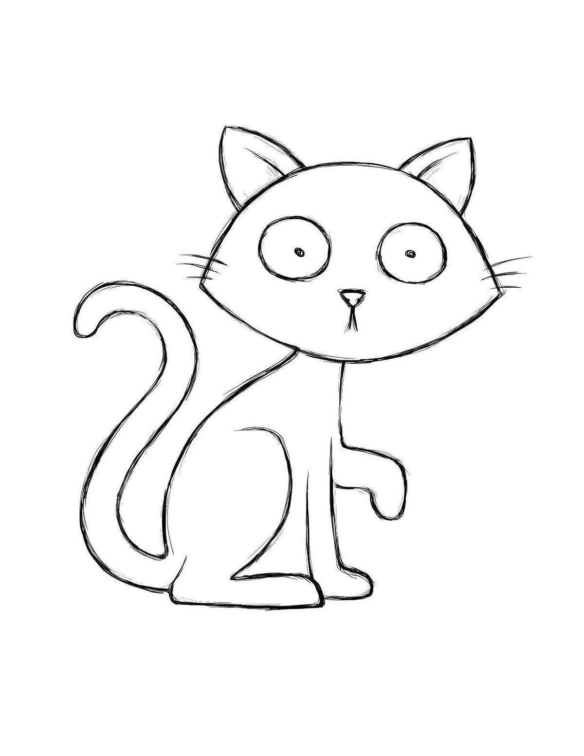 Легкие картинки котов