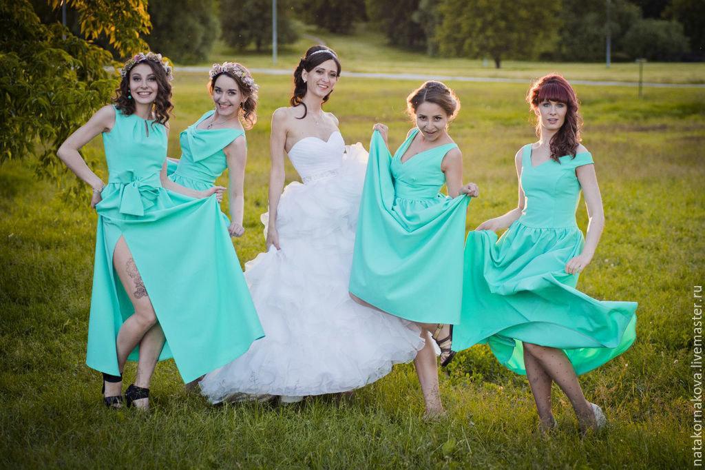 платье для подруг невесты фото приготовления такой