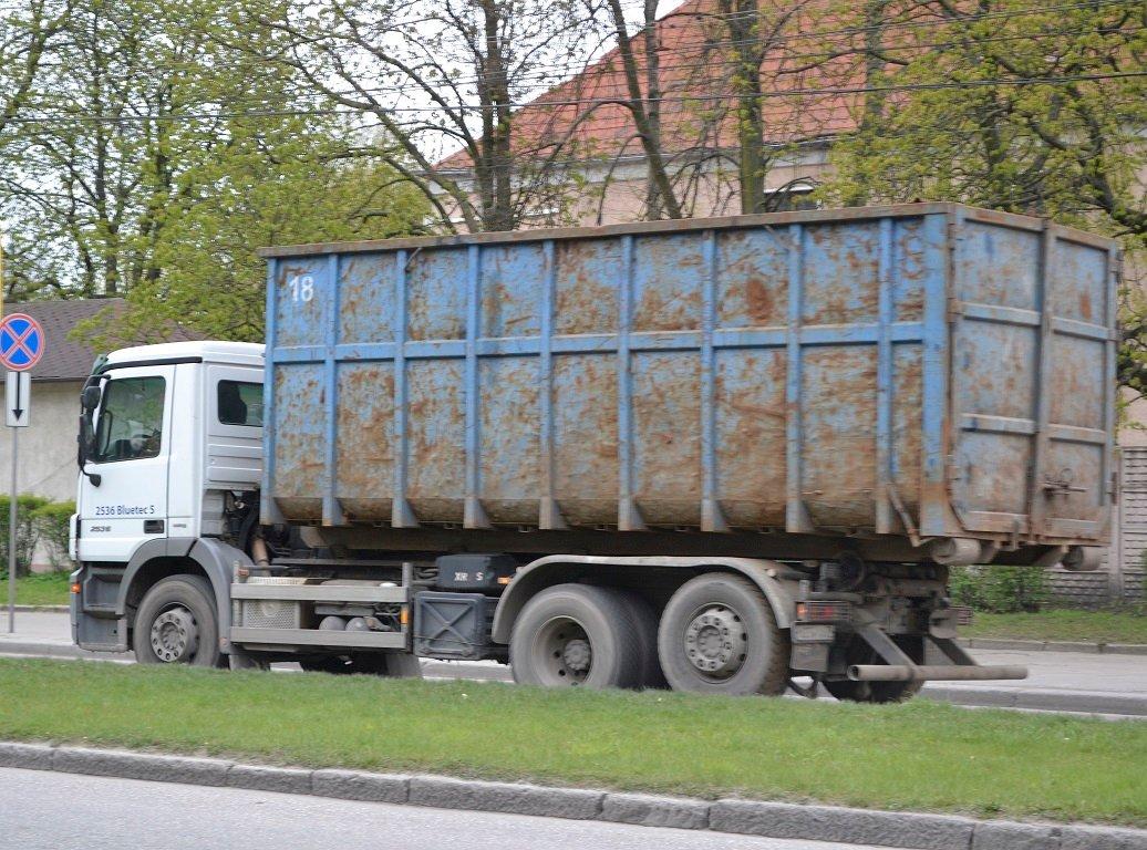 Мусоровоз Сити - Вывоз мусора контейнером в Москве