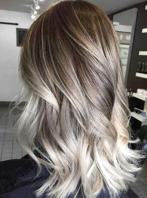 från blond till ombre