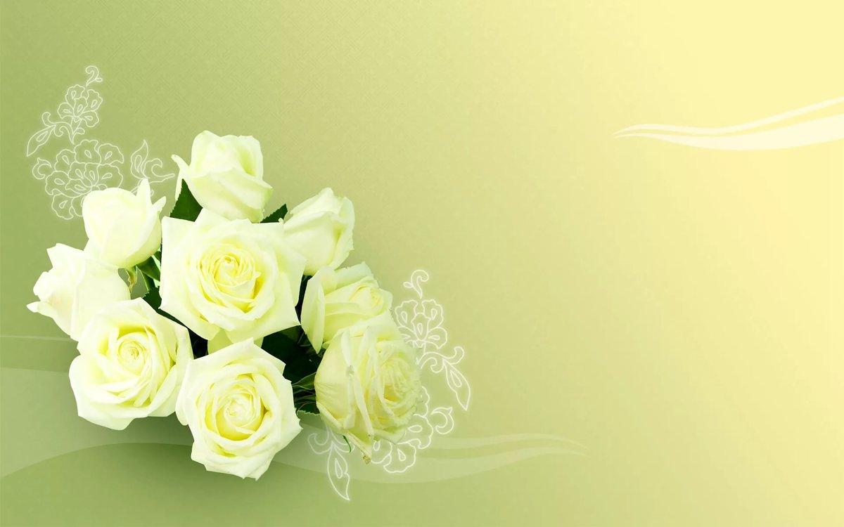 Открытка цветов для поздравления