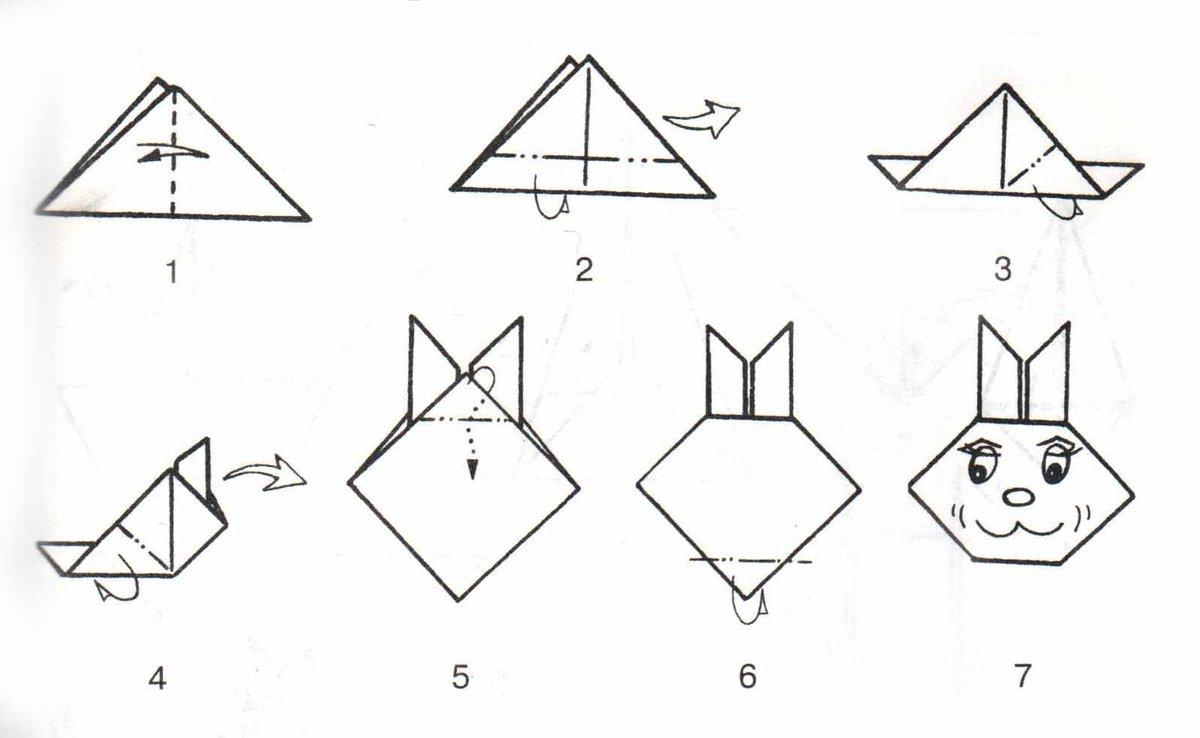 Оригами для начинающих картинки