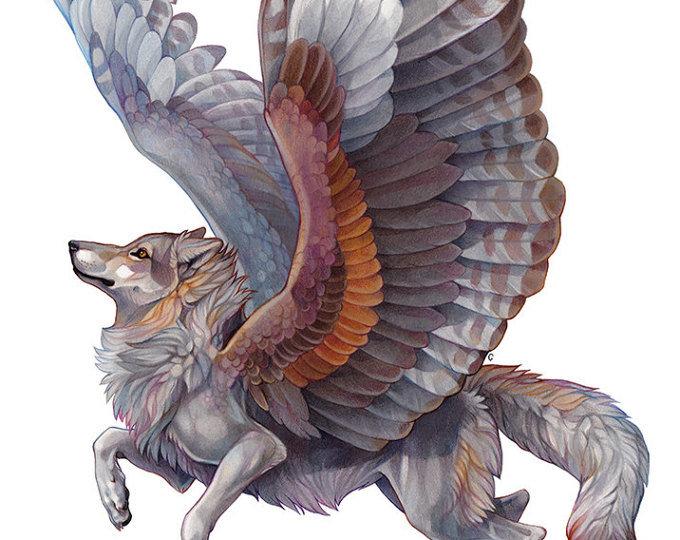 Картинки летучих волков