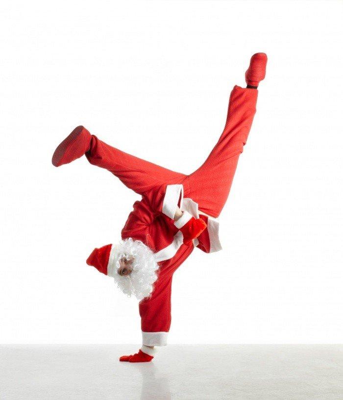 танцующие новогодние поздравления рамках данной