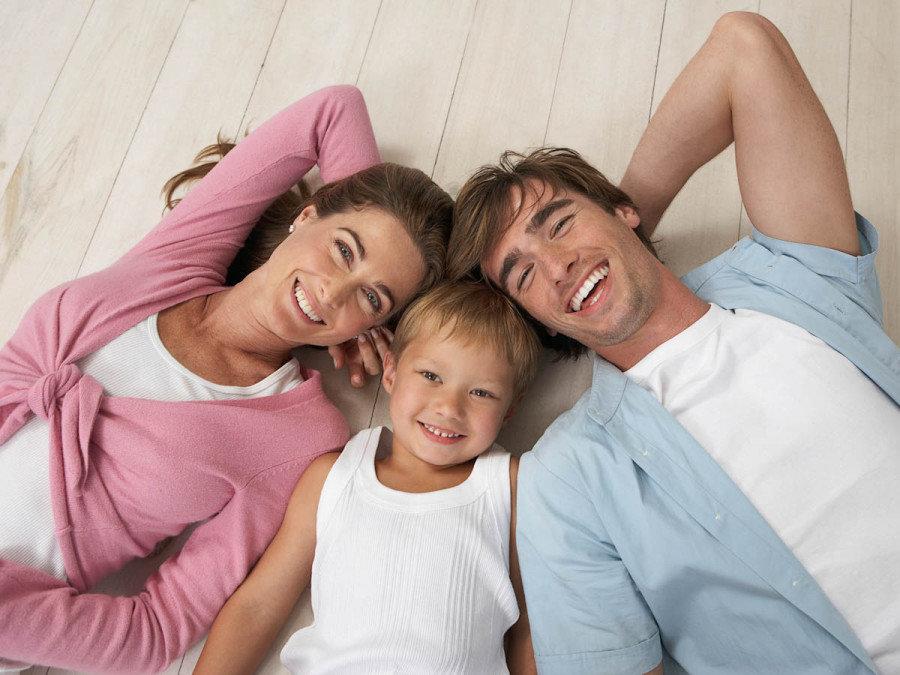 Самая красивая семья картинки, днем
