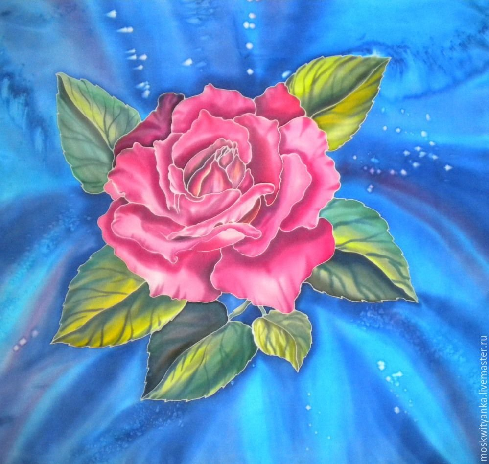 Картинки для батика цветы