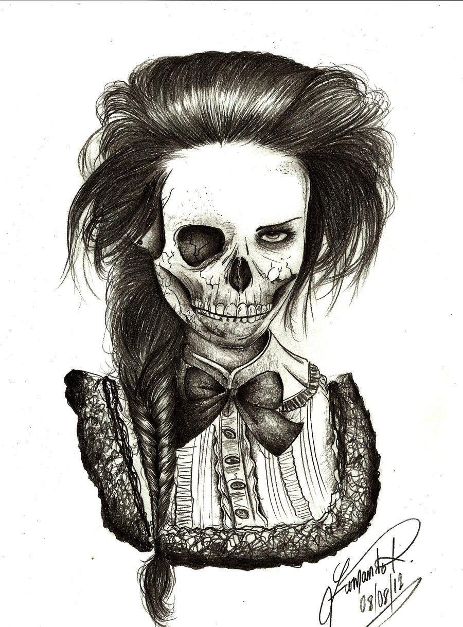 Крутые рисунки для пацанов карандашом скелеты
