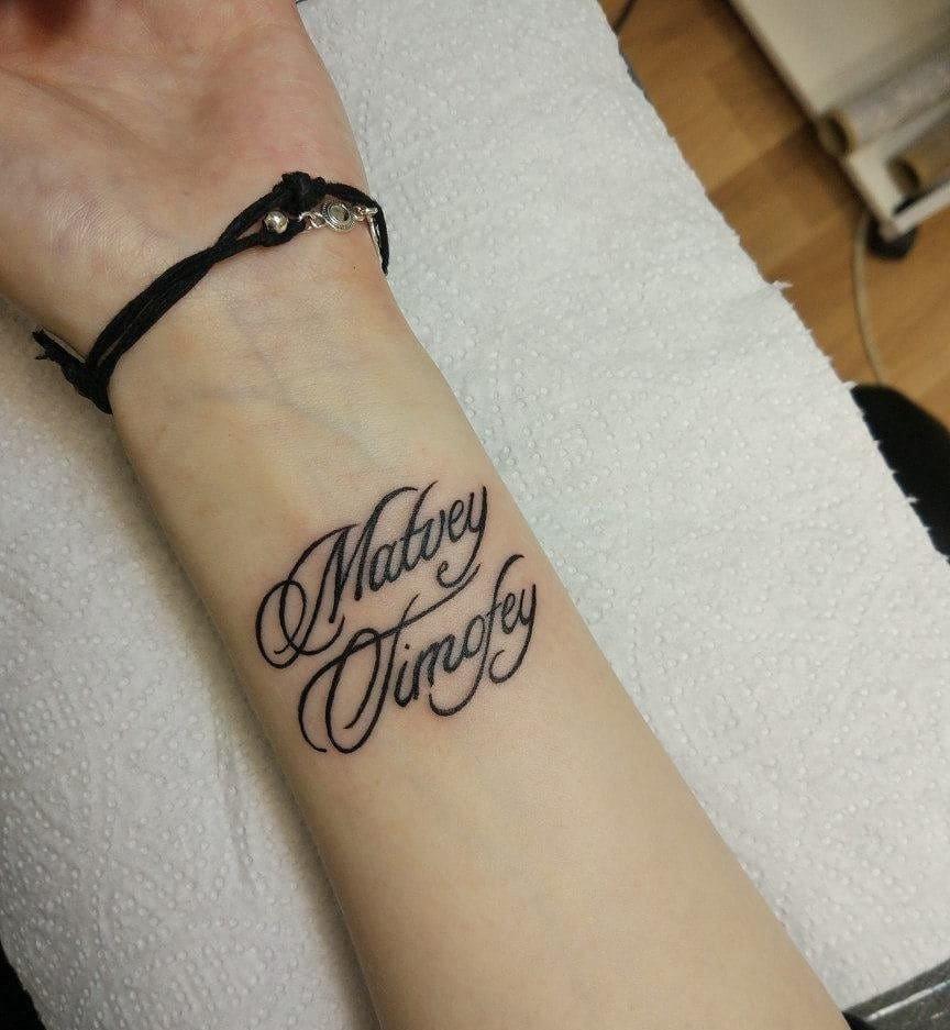Надписи тату для девушек в картинках, дочи марта
