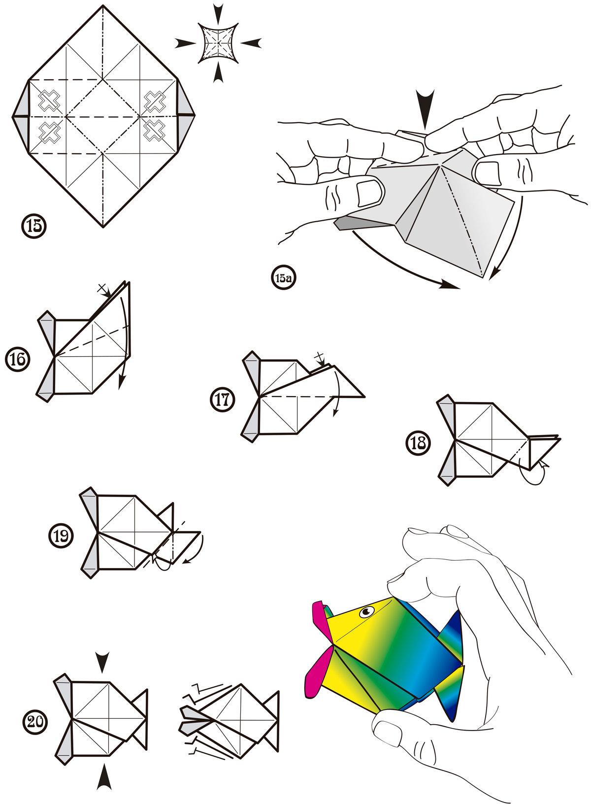 оригами из бумаги картинки схемы для начинающих многие годы эксплуатации