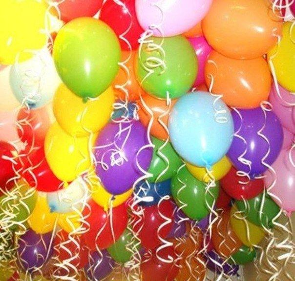Воздушные шары как элемент праздника