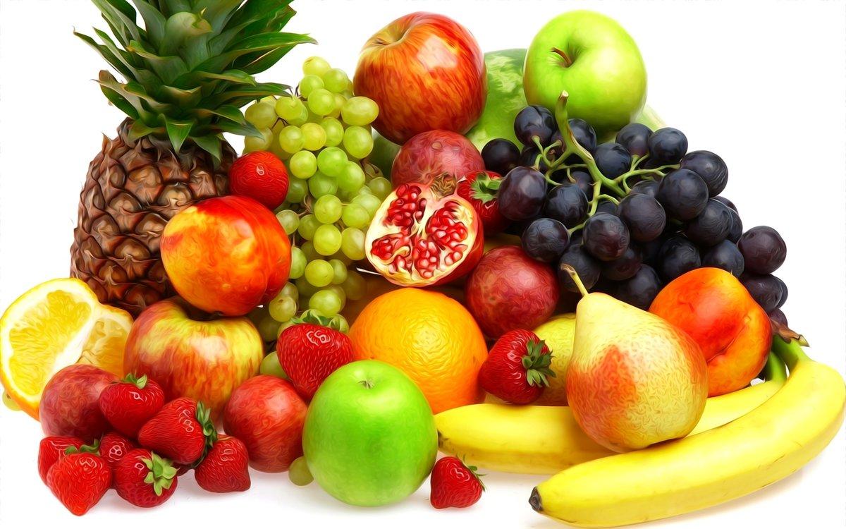 Картинки с ягодами фруктами и овощами