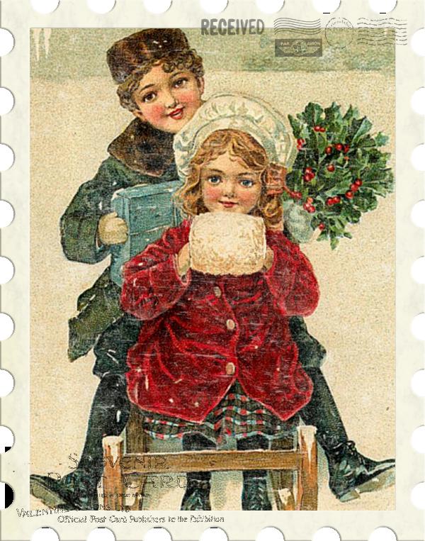 Смешные картинки, открытка дети и новый год