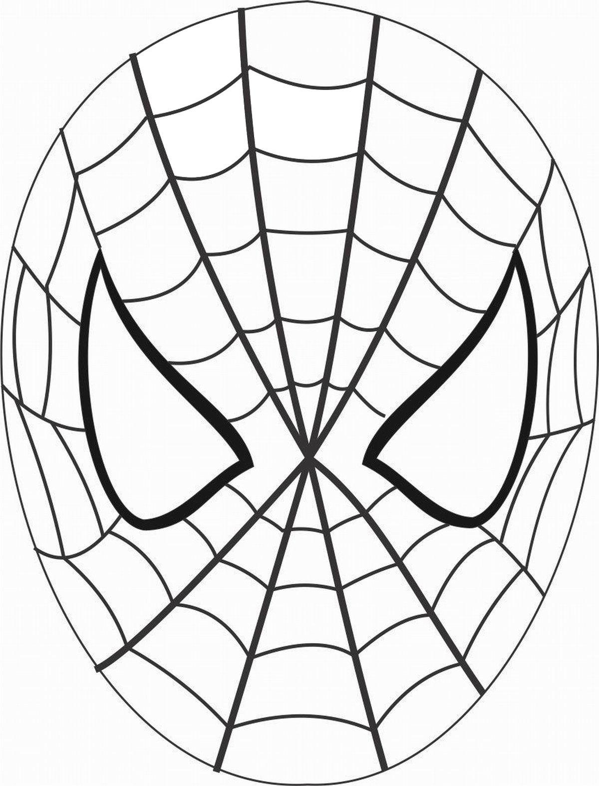 Картинка человек паук маска