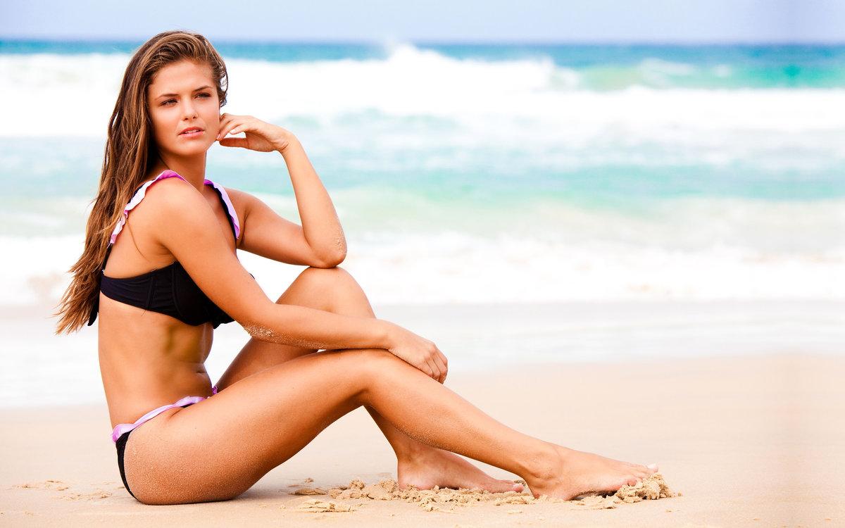 фотки красивых девушек на пляже