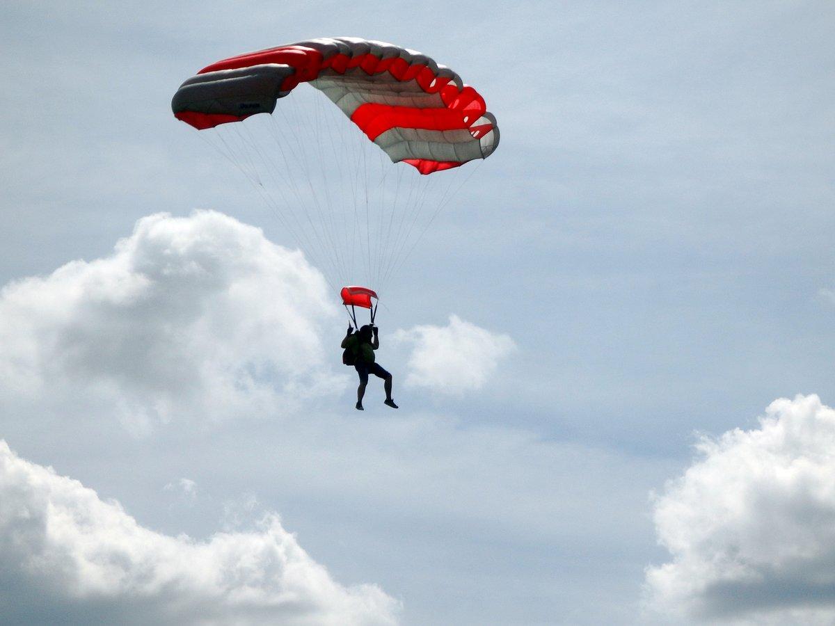 Своими, красивые парашютные картинки