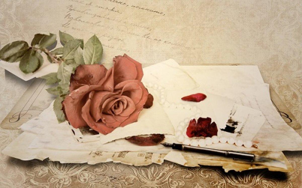 Ангелочек счастье, винтажные открытки обои