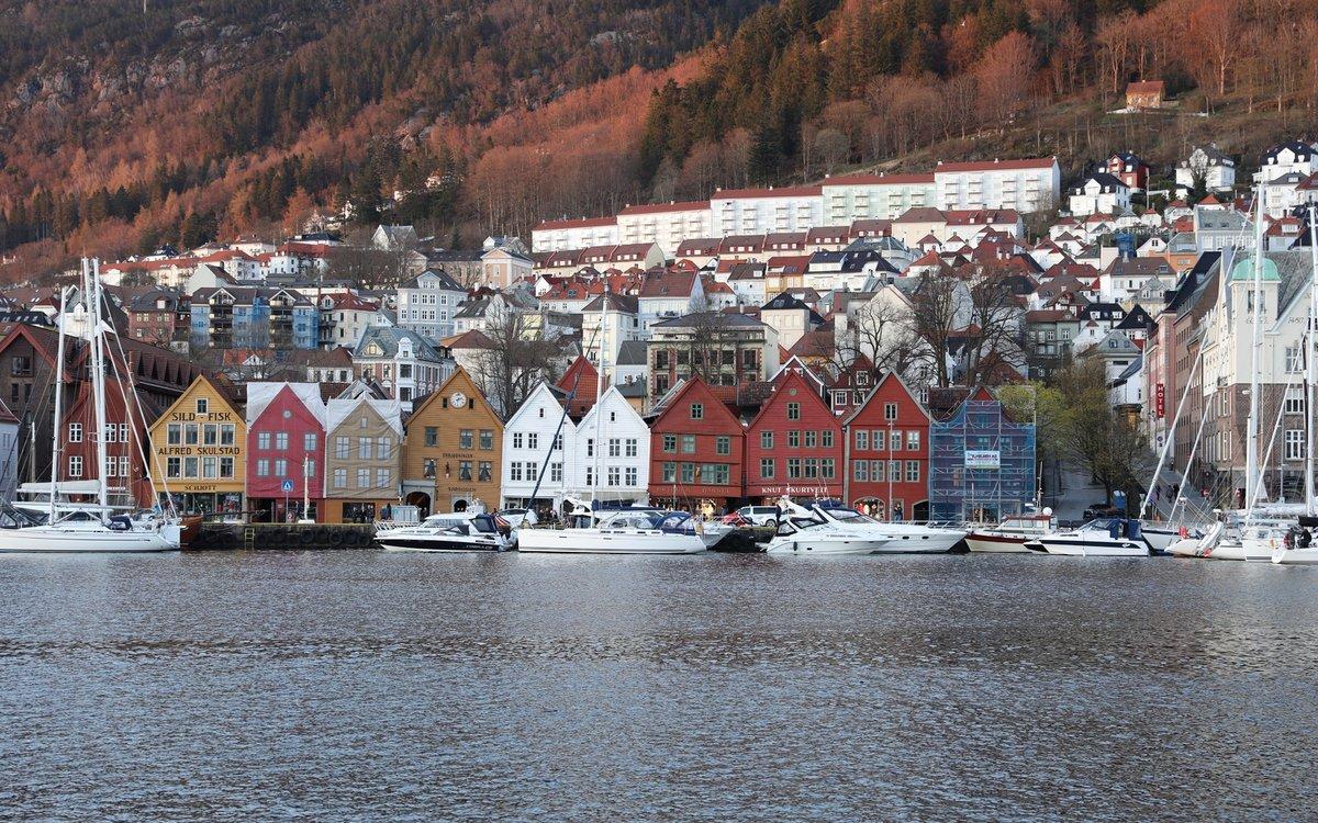 Норвегия в картинках для детей