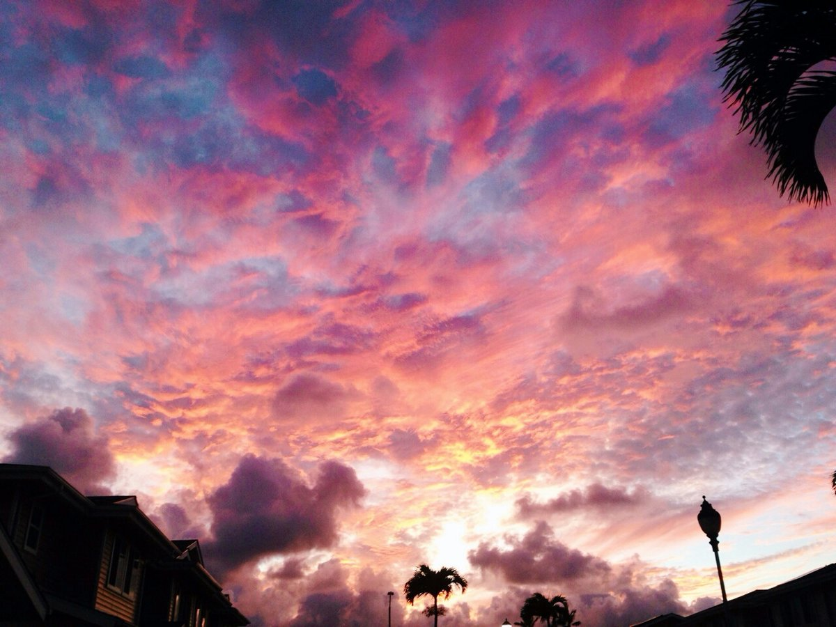 Картинки розового неба в хорошем качестве