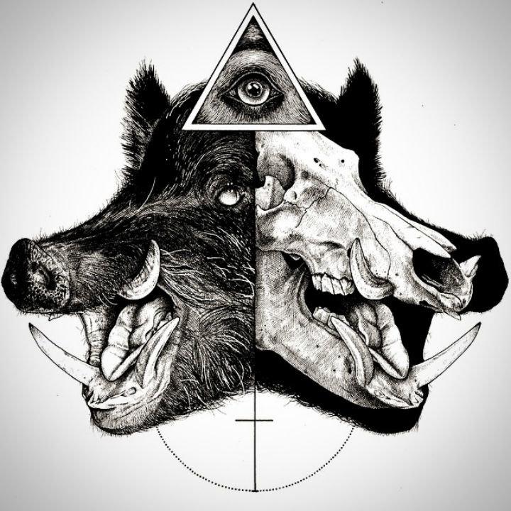 этом картинки с треугольником и животным руками отрывали