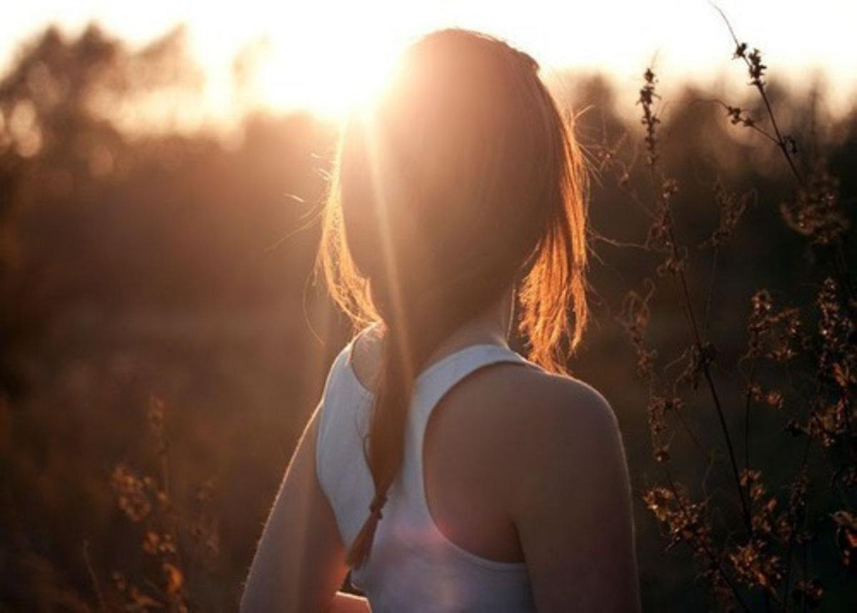 Девушки шатенки со спины — photo 15