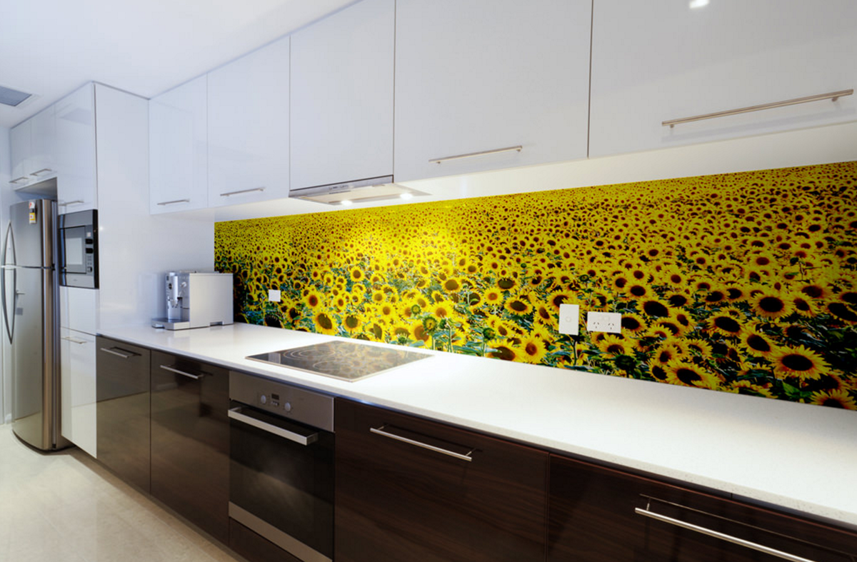 это образцы стеклянных фартуков для кухни фото способствуют