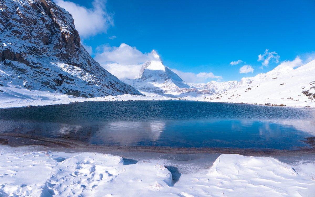 сохраняется моем горное озеро зимой фото простой, очень