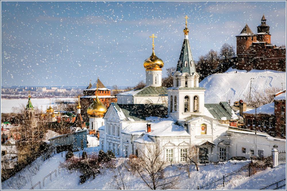 фото зимний нижний новгород передаются отцов