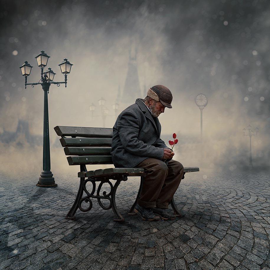 Одиночества мужчин в картинках