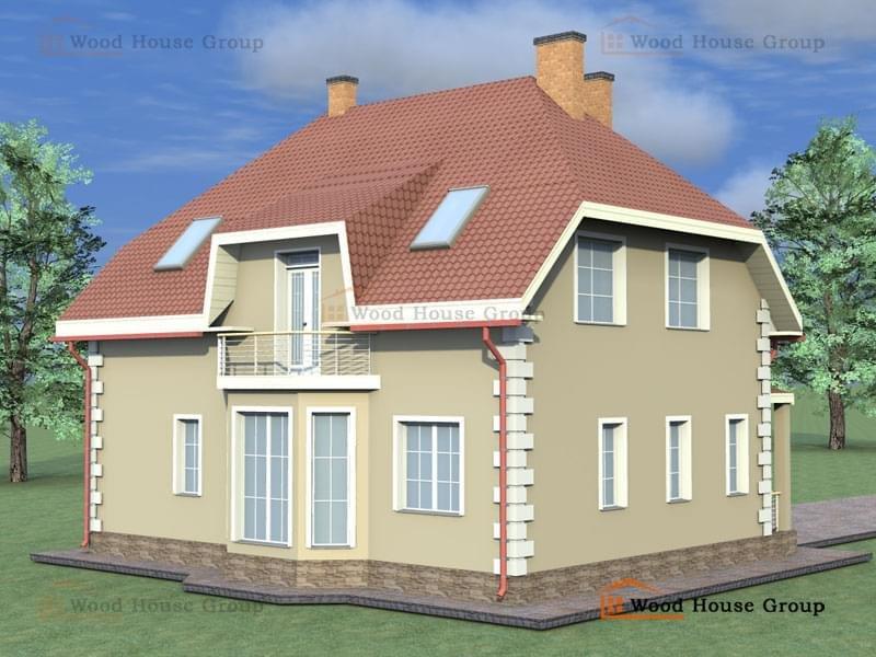 проект дома из пеноблоков эконом класса фото оптимистичным