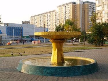 фонтан отрадное