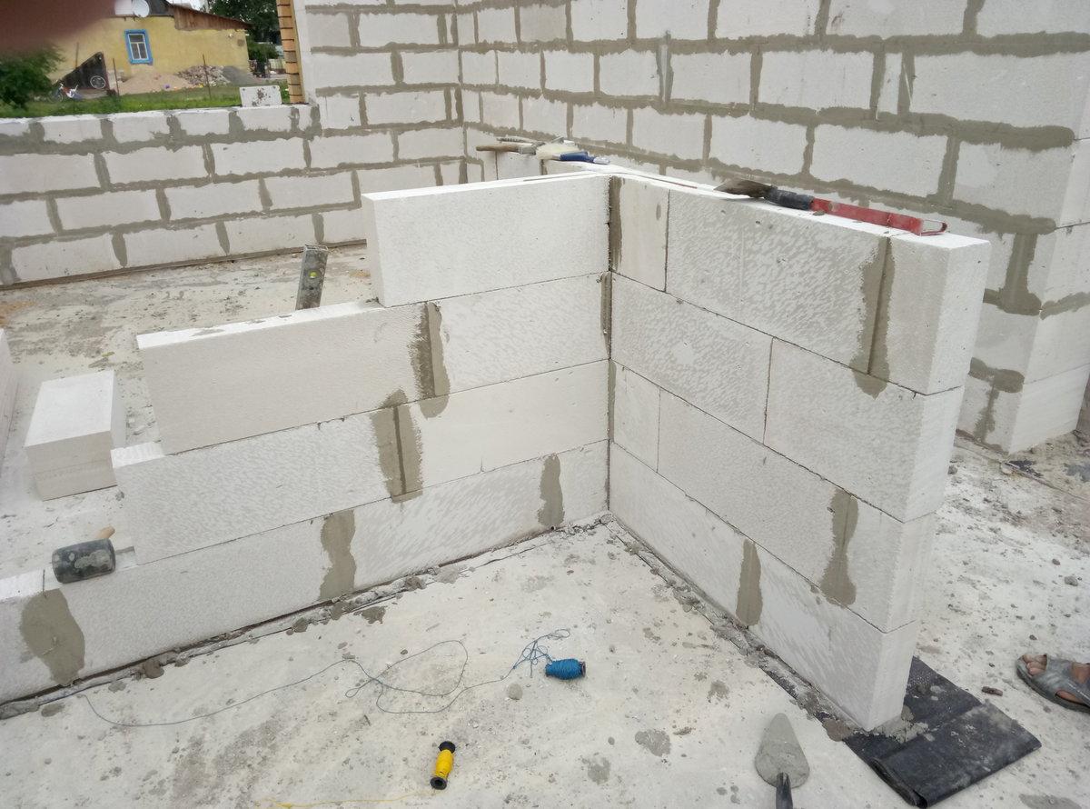 стена из газобетонных блоков цена