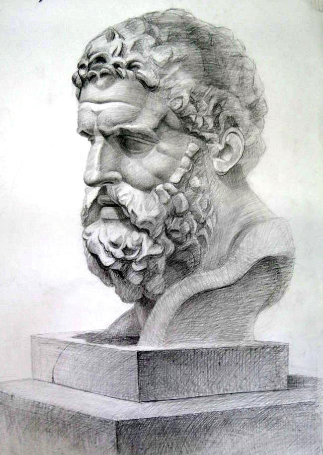 картинки головы скульптуры сообщает