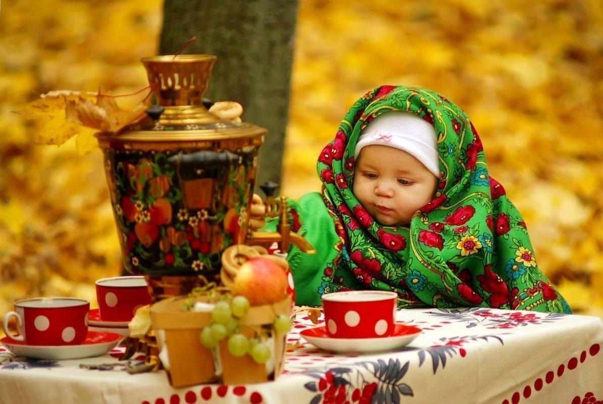 Доброе утро картинки дети осень