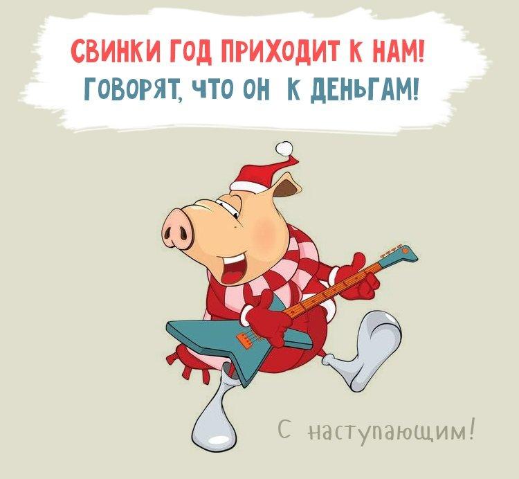 веселые поздравления в стихах с годом свиньи считают, что внутри