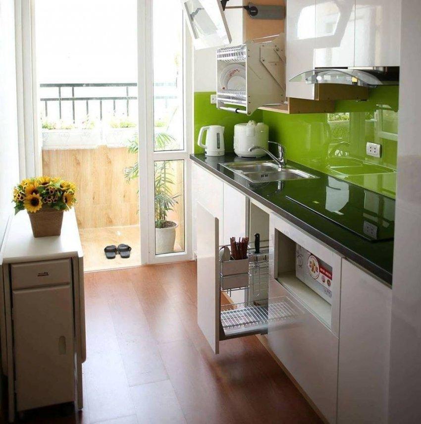Малогабаритная кухня картинки дизайн кабинете