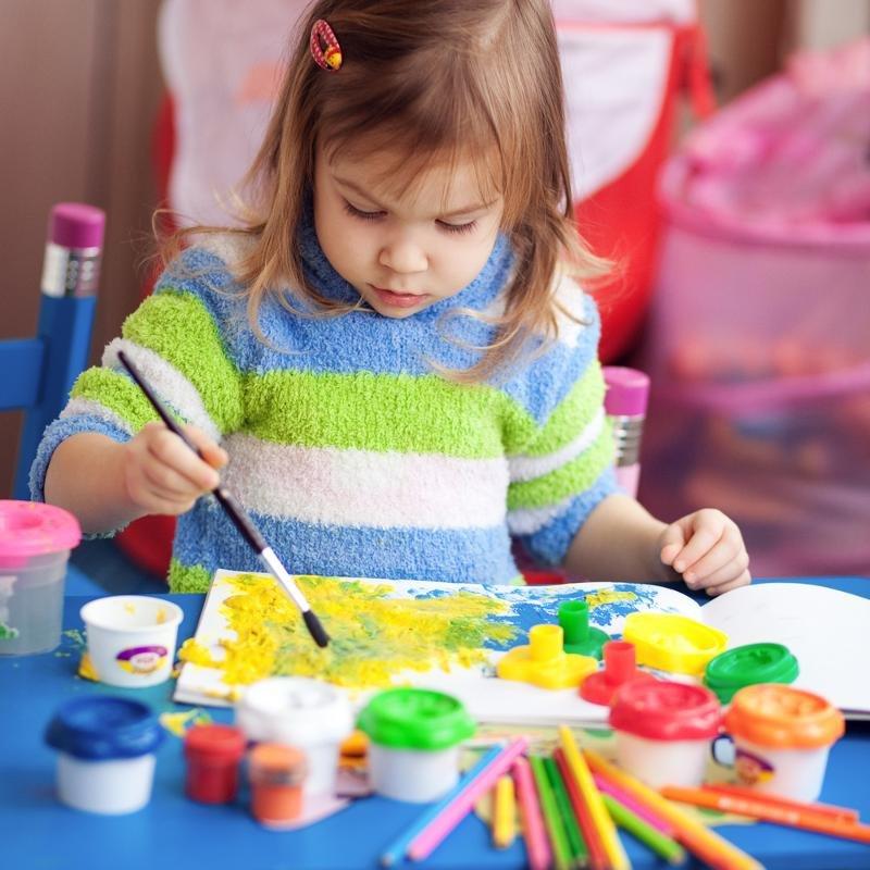 Добрым утром, занятия с детьми картинки рисованные