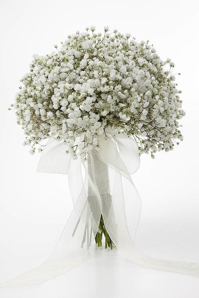 Маленькие белые цветы для украшения букетов