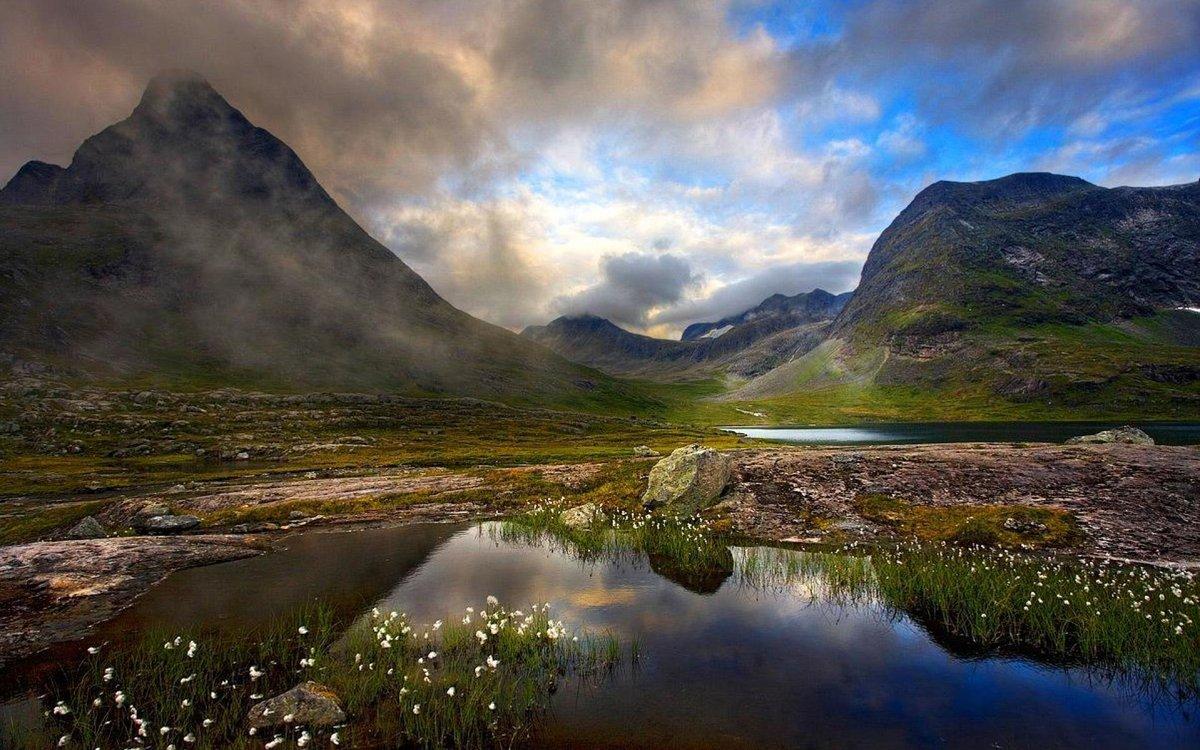 скандинавия горы пейзажи фото наращиванию ресниц