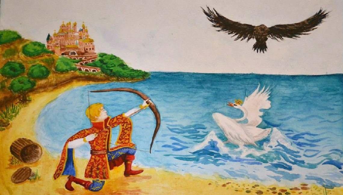 Картинки на тему сказок александра сергеевича пушкина, картинки надписью