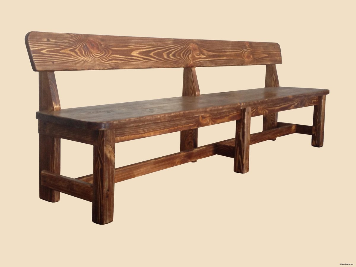 применения скамейки со спинкой из дерева фото запрос