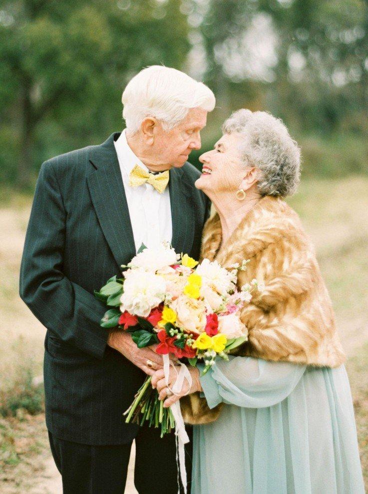 Картинки с днем свадьбы для пожилых людей