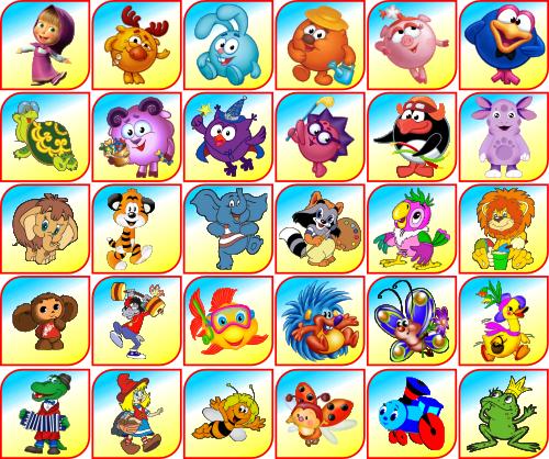 Картинки из мультфильмов на шкафчики