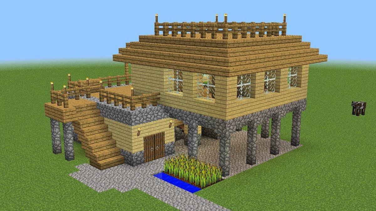 майнкрафт строить домики многом часто